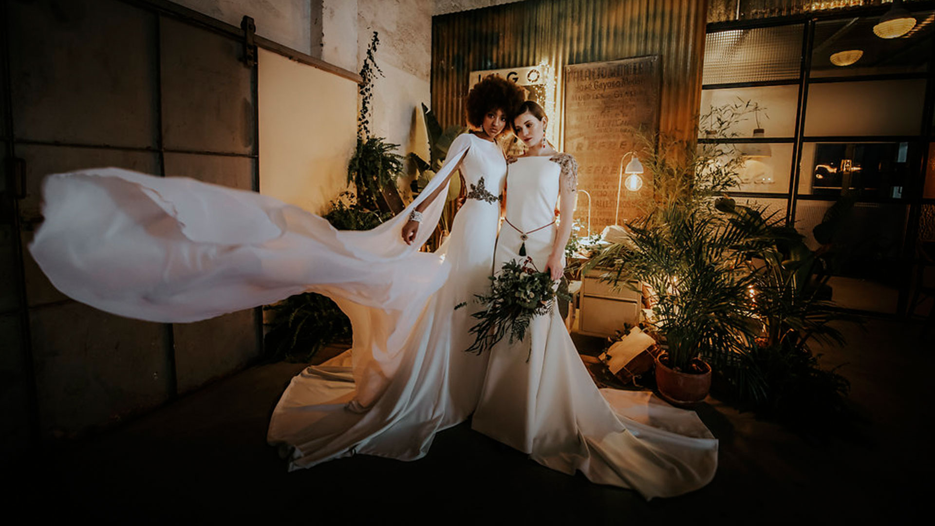 Vestidos de novia colección Arabia de Montse Arias Costura