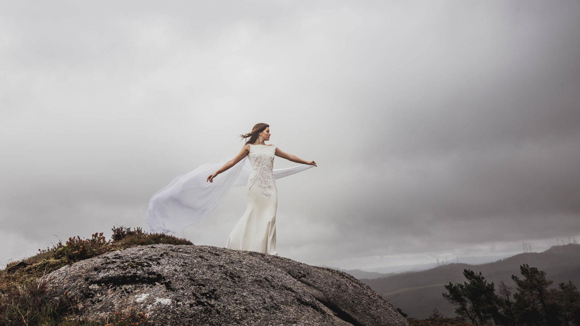 Vestido de novia colección bruma